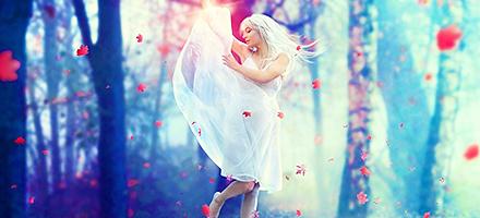 梦寐以求!如何使用PS打造唯美的梦幻仙女