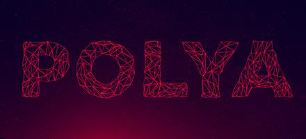 字体尝鲜季!多边形线性Polya英文字体免费下载