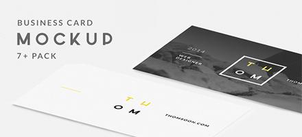 太棒了!7款国外创意名片设计PSD免费下载