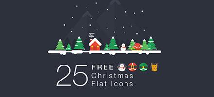 圣诞大礼包!一大波圣诞图标徽章图形免费下载