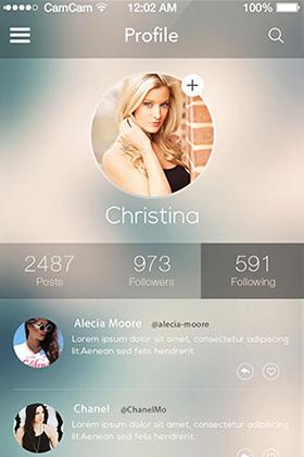 梦幻IOS8 APP应用程序用户界面设计