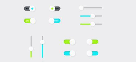 15个UI交互按钮源文件免费下载