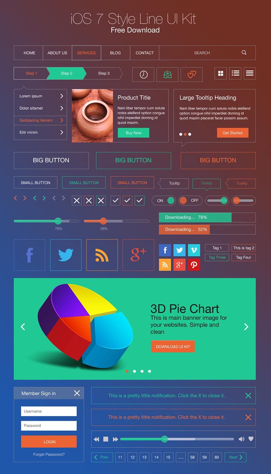 4UI-kit-ios7-line.jpg