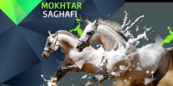 Mokhtar SAGHAFI 多边形网页设计Polygon web design