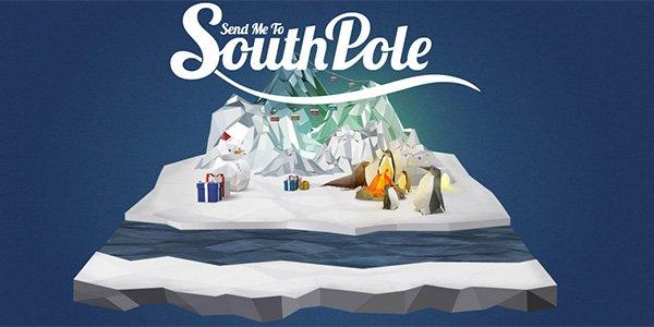 SouthPole 多边形网页设计Polygon web design