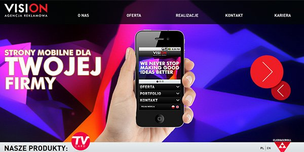 Agencja Reklamowa 多边形网页设计Polygon web design