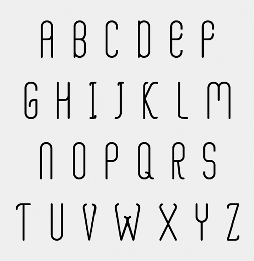 Aaram free fonts letters for designers