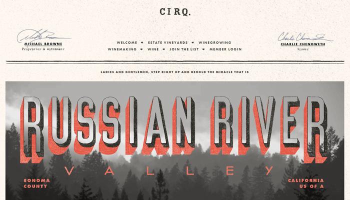 cirq russian river valley pinot noir winery