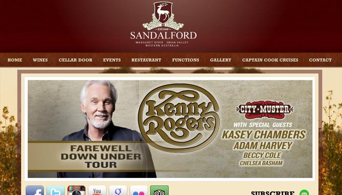 sandalford winery australia vineyard website