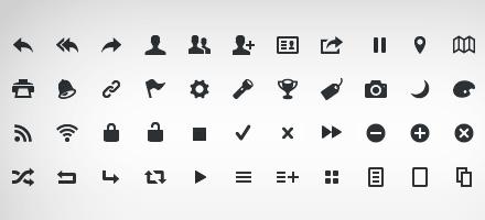 火热来袭!web2.0 icon font图标字体大集合