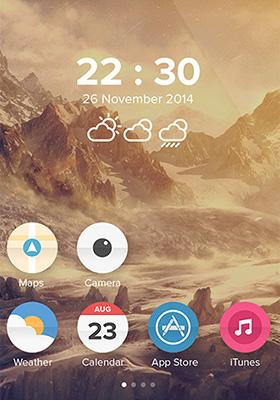 iOS 8 redesignUI界面设计