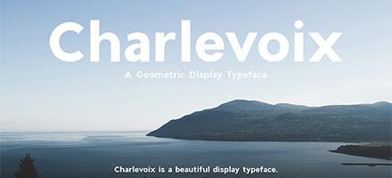 好货抢先看!Charlevoix beautiful字体免费下载