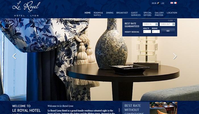 lyon paris royal hotel website