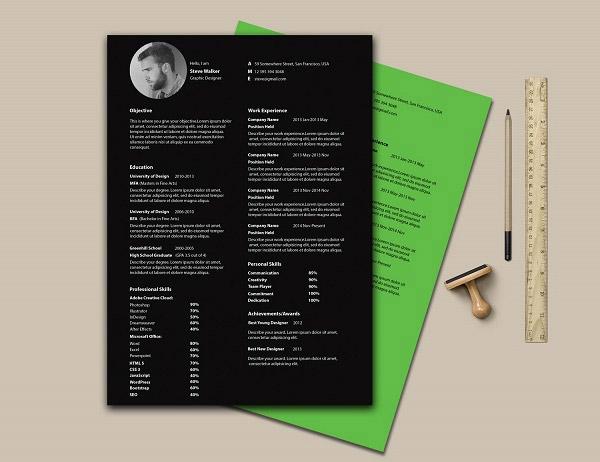 Ultra Minimal Resume by Saptarshi Nath