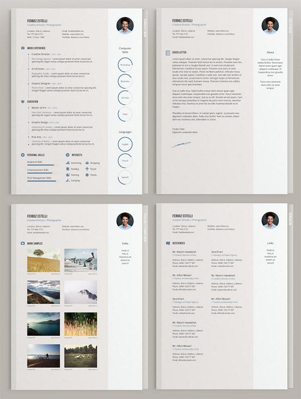 Minimal CV Template by Theme Raid