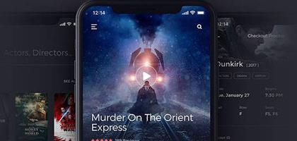 这个有点酷!Kino 电影app ui界面模板下载